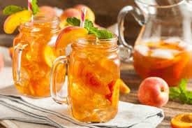 Công thức làm món trà đào cam sả bao ngon