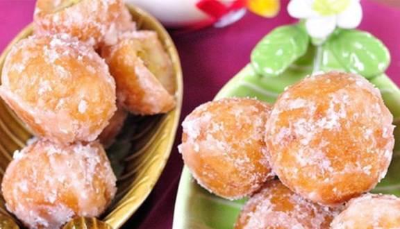 Cách làm bánh rán đường ngọt ngào